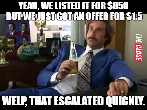 Those Who List, Last-77 Brand New Real Estate Memes for 2018