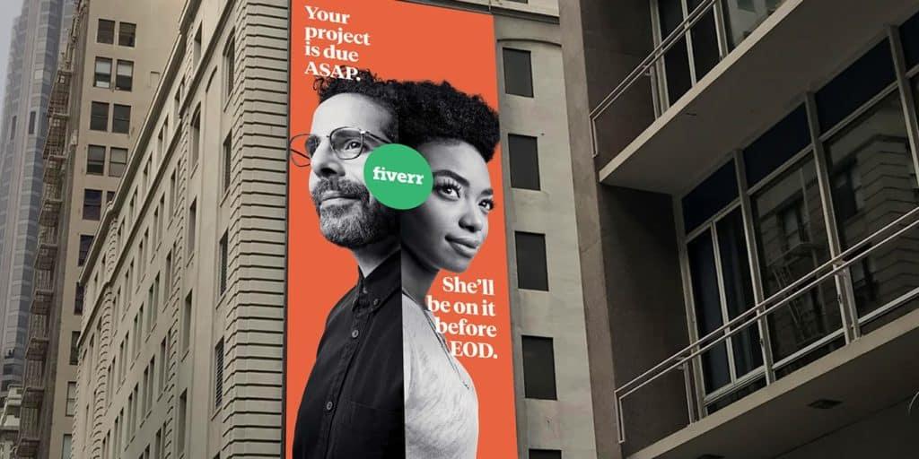 Fiverr branding services