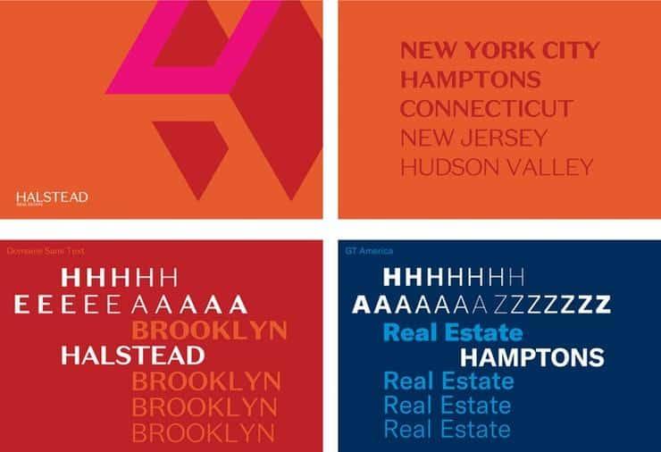 Halstead color branding