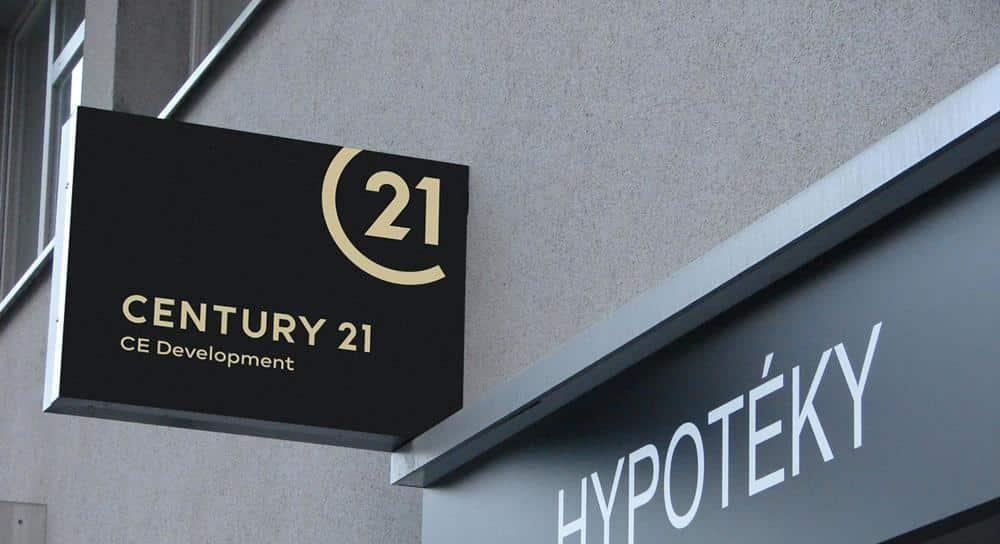 C21 outdoor signage