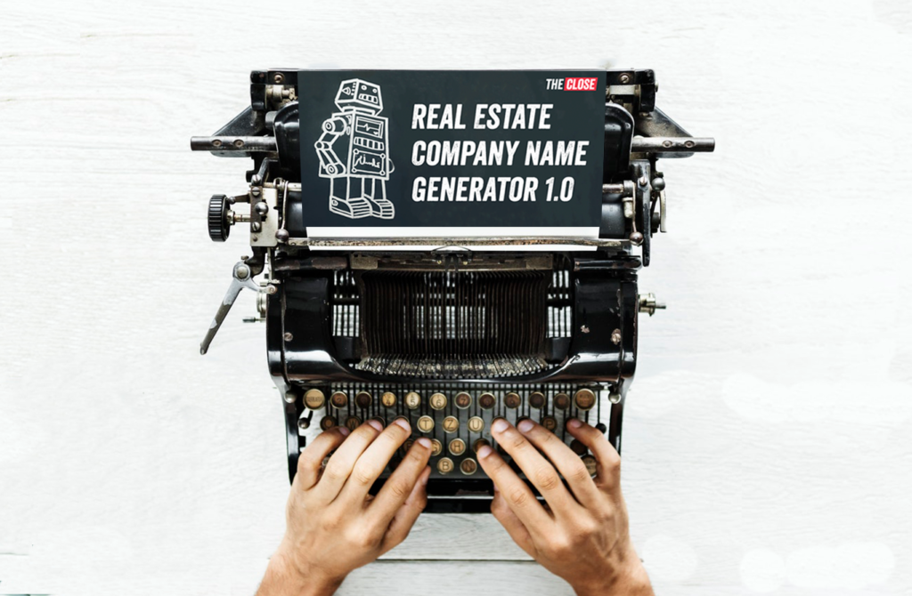 89 Creative Real Estate Company Name Ideas The Close