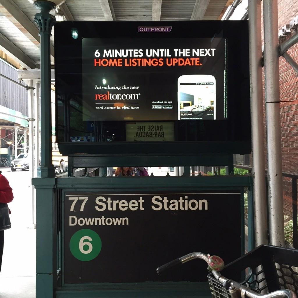 Realtor.com Subway Ad