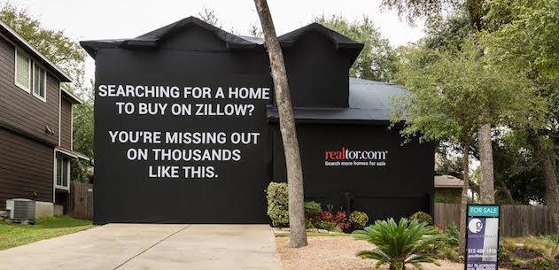Realtor.com House Wrap Ad