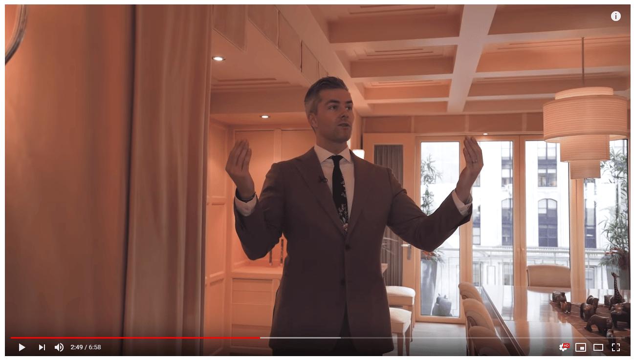listing walk-through real estate video