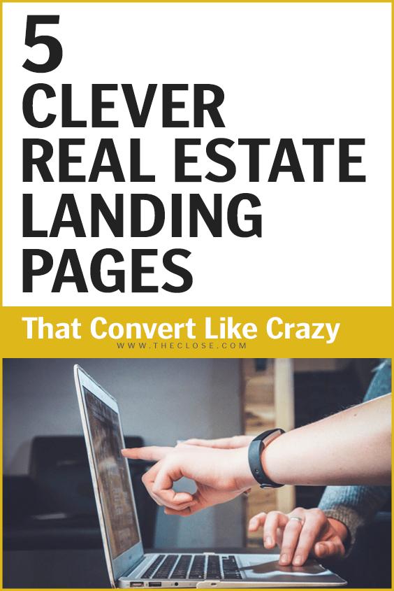 Real Estate Landing Pages Pin