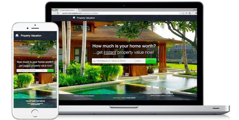 Real Geeks best real estate lead generation website