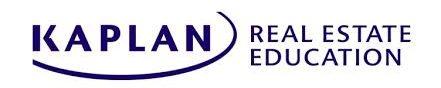 kaplan Best Online Real Estate School