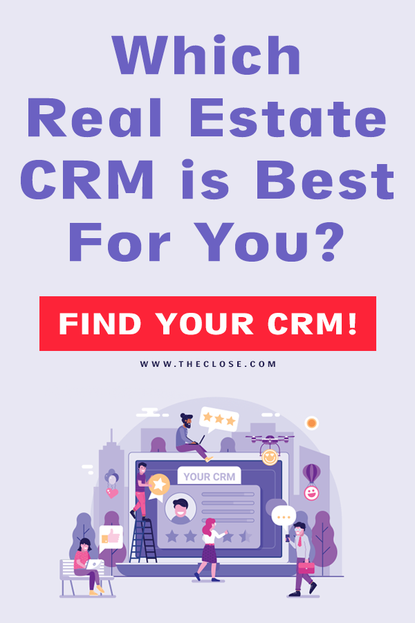 Best Real Estate CRM Pin