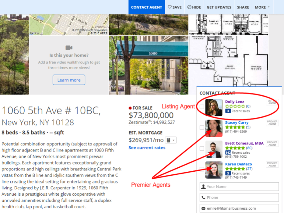 Is Zillow Premier Agent Worth The Cost?