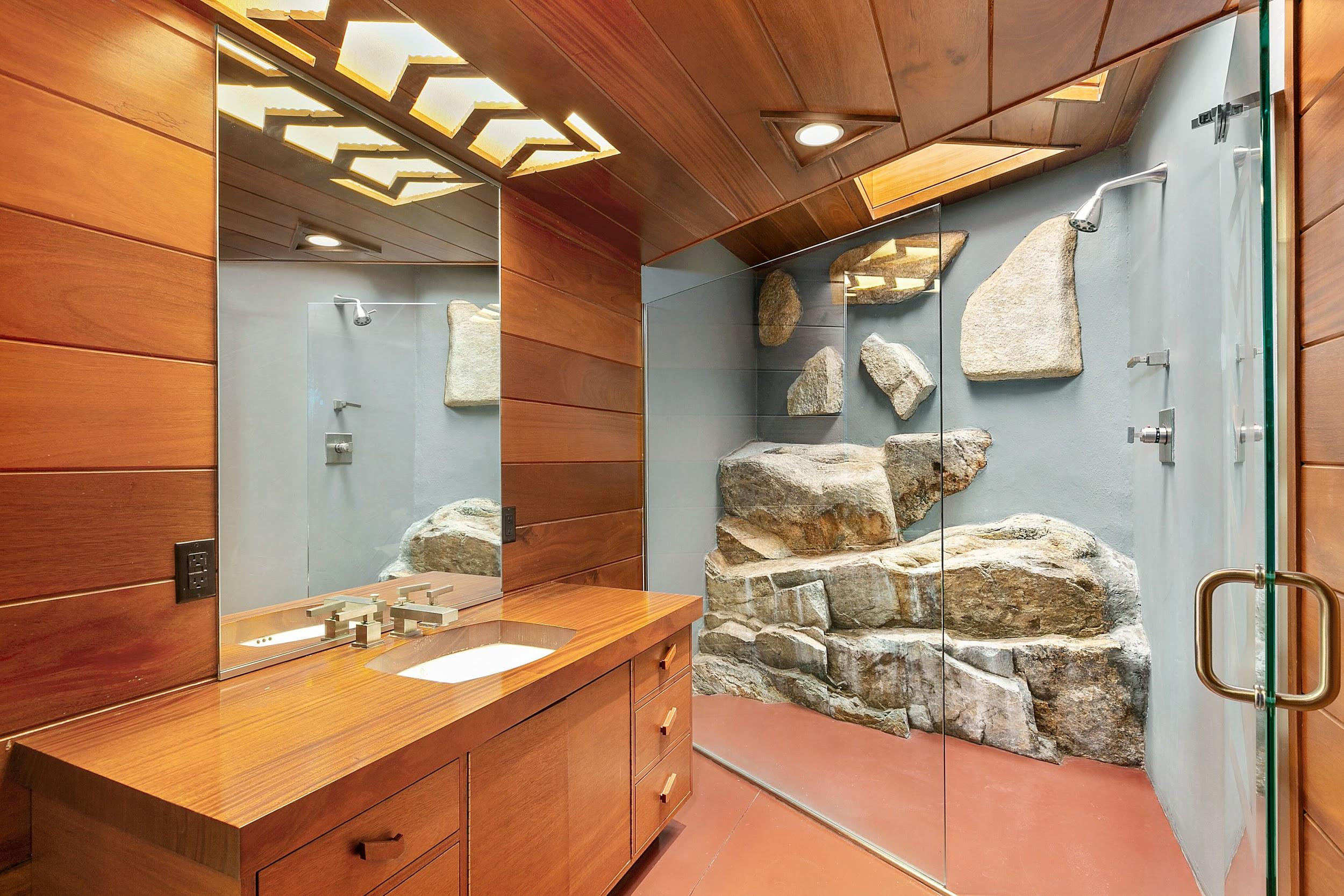 A Private Island With Two Historically Significant Frank Lloyd Wright Homes