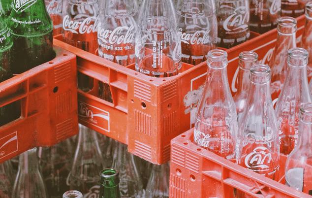 Softdrinks bottles