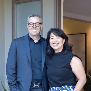 Christopher Fling and Karen Yang