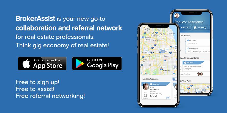 BrokerAssist Real Estate App
