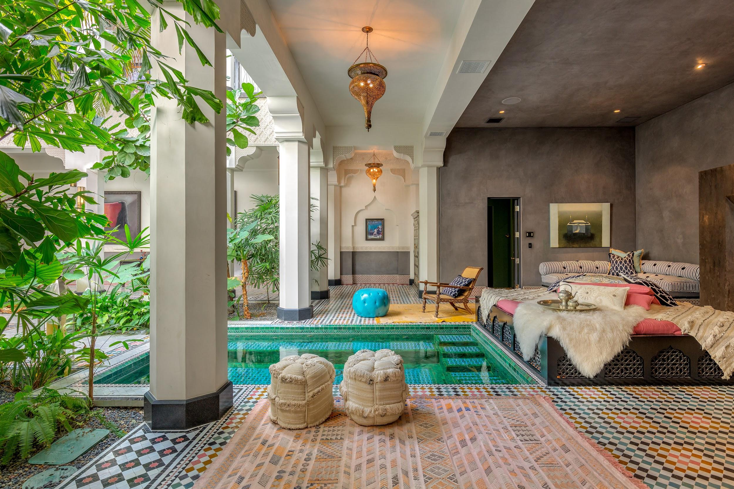 3 Serene Moroccan-Style Mansions in SoCal