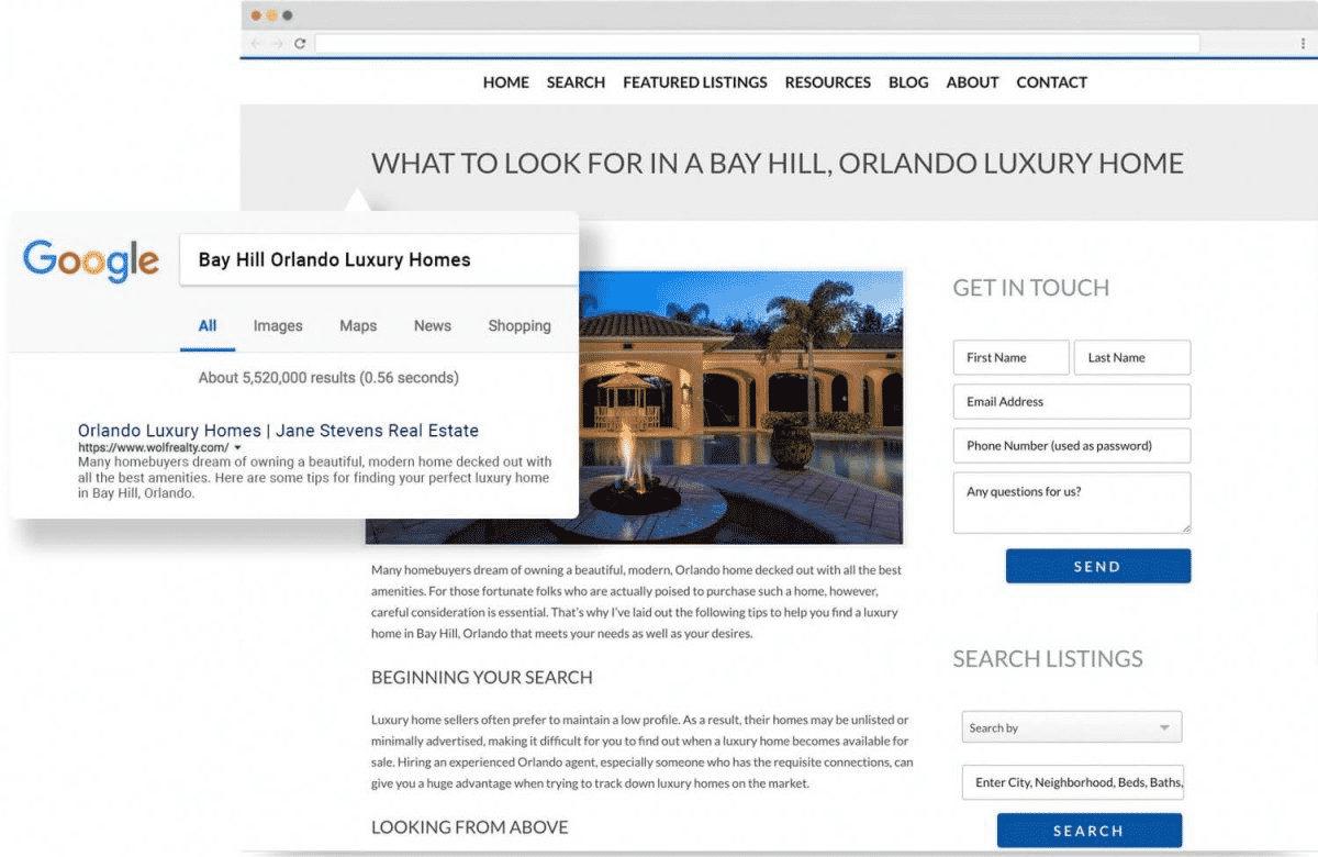 Placester As a Blogging Platform