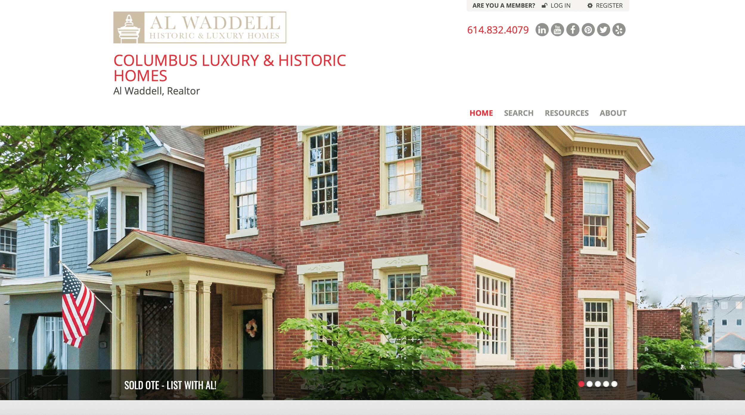 Al Waddell website
