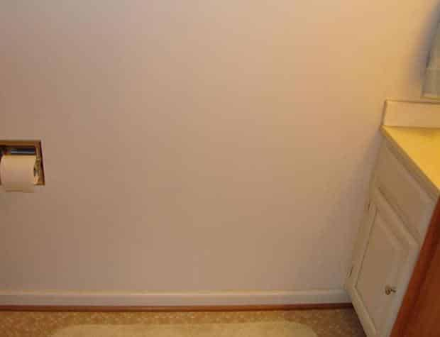 bad real estate photos: Bathroom tissue and a cabinet