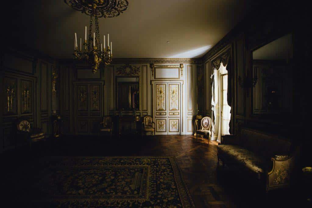 Dark large room
