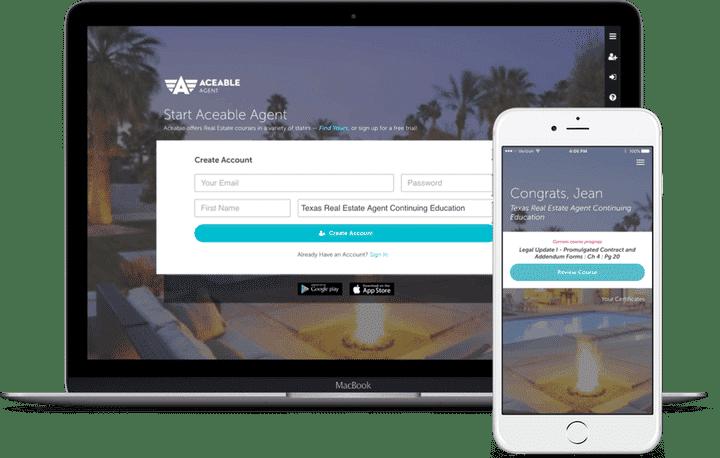 Aceable Agent on mobile platforms