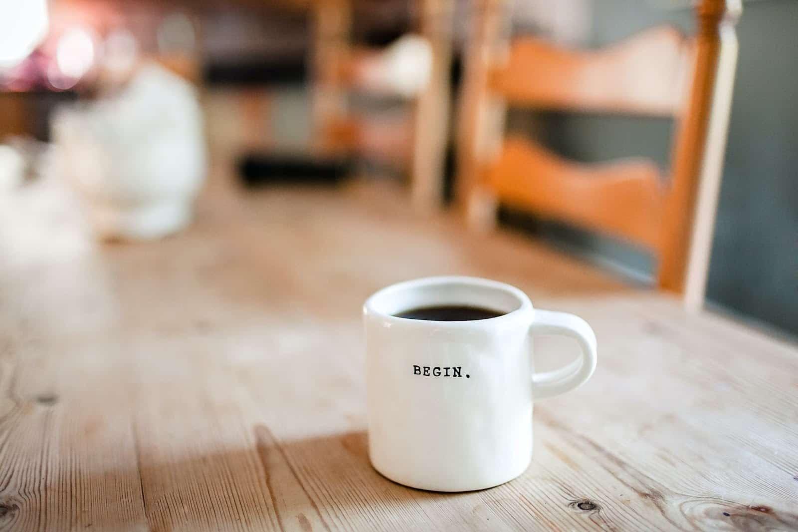 Begin cup