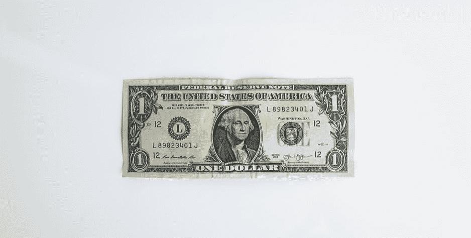 One US Dollar Bill