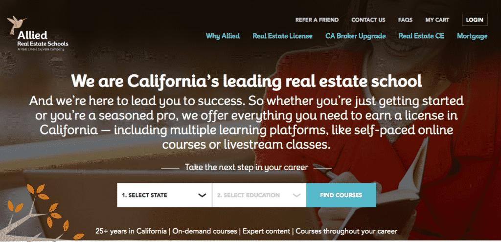 allied real estate school