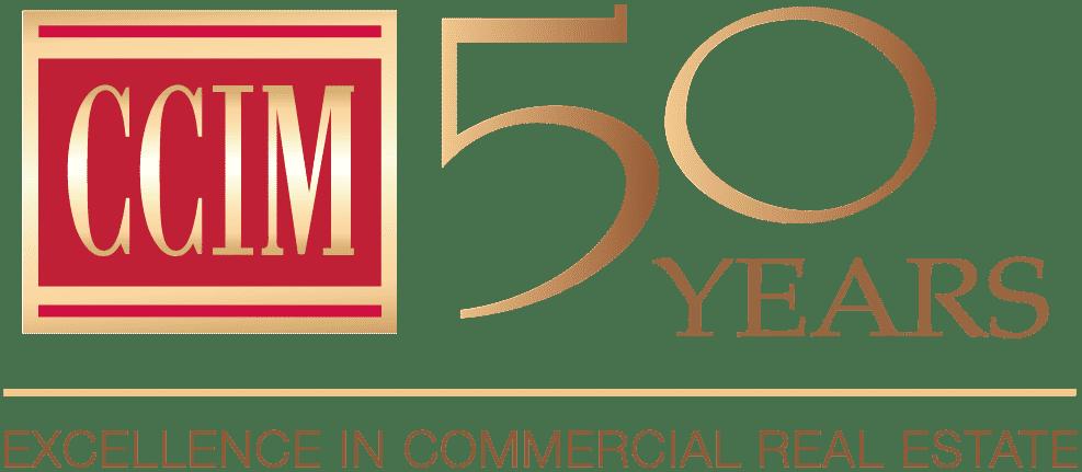 CCIM 50 years logo