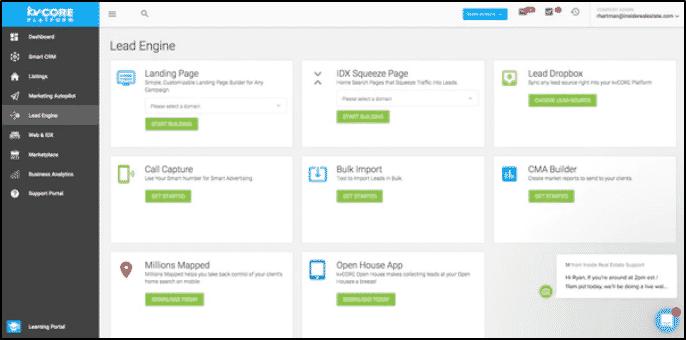 kvCORE Custom Landing Pages