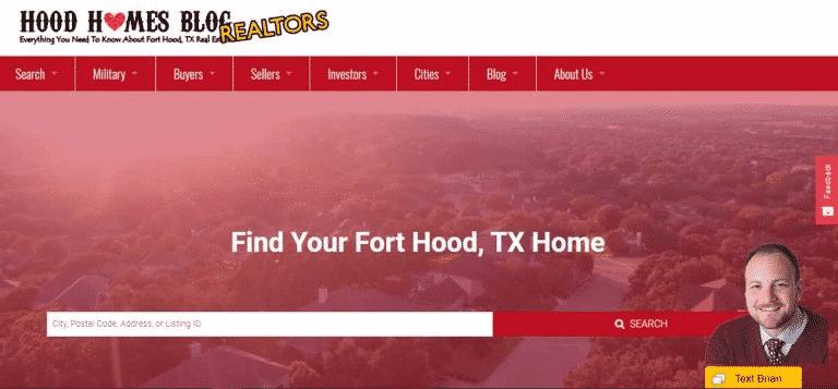 Hood Homes website