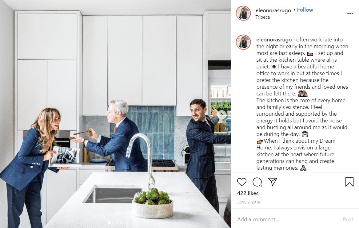 Eleonora Srugo Instagram Post