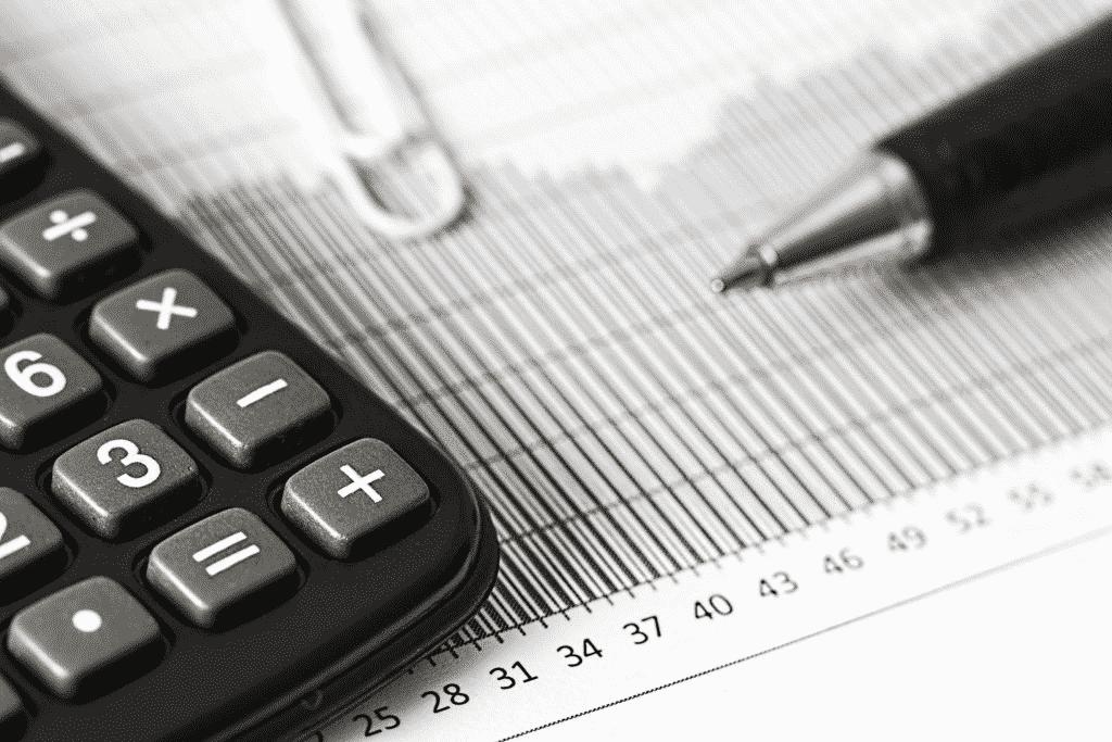 Calculator Clip Ballpen and Sheet