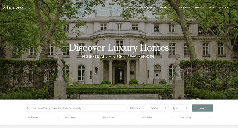 HOUZEZ - Real Estate Brokerage Websites