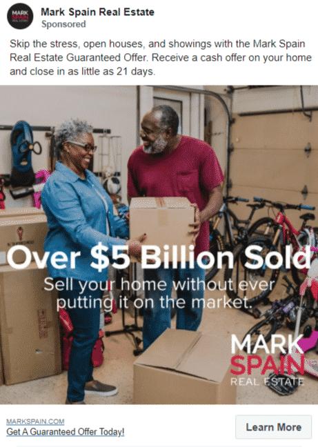 Mark Spain Group - Over $5 Billion Sold