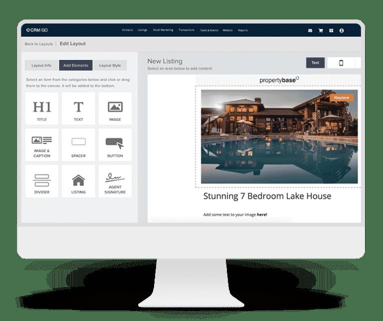 Propertybase GO Marketing Options