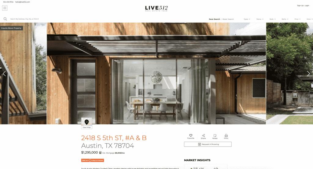 Propertybase example website