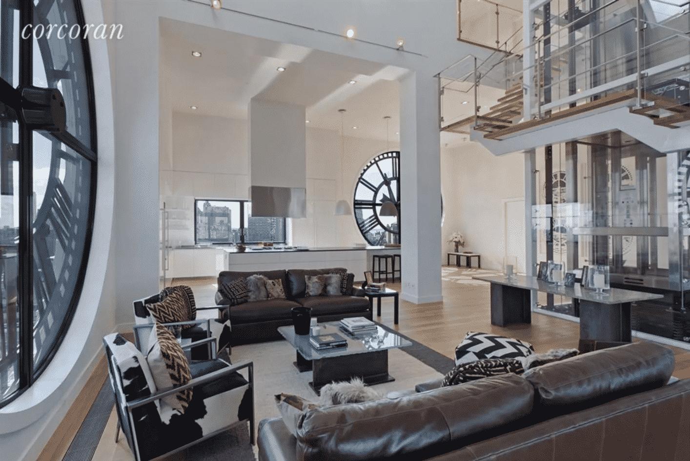 Clocktower Apartment interior