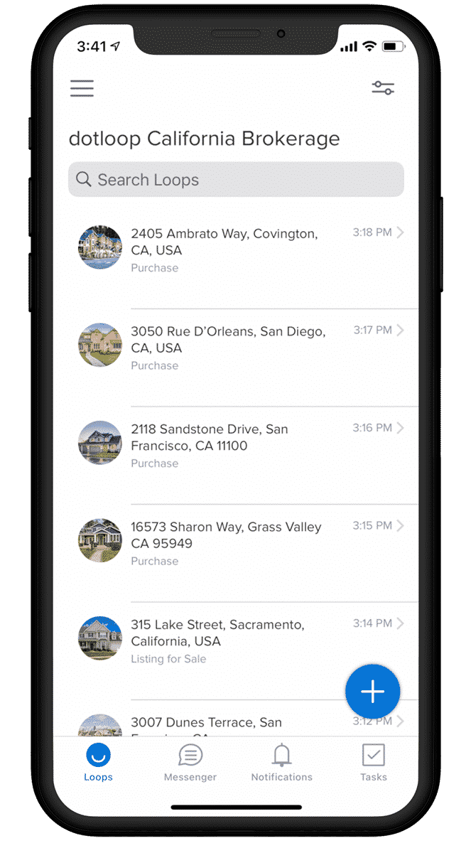 Dotloop transaction management app