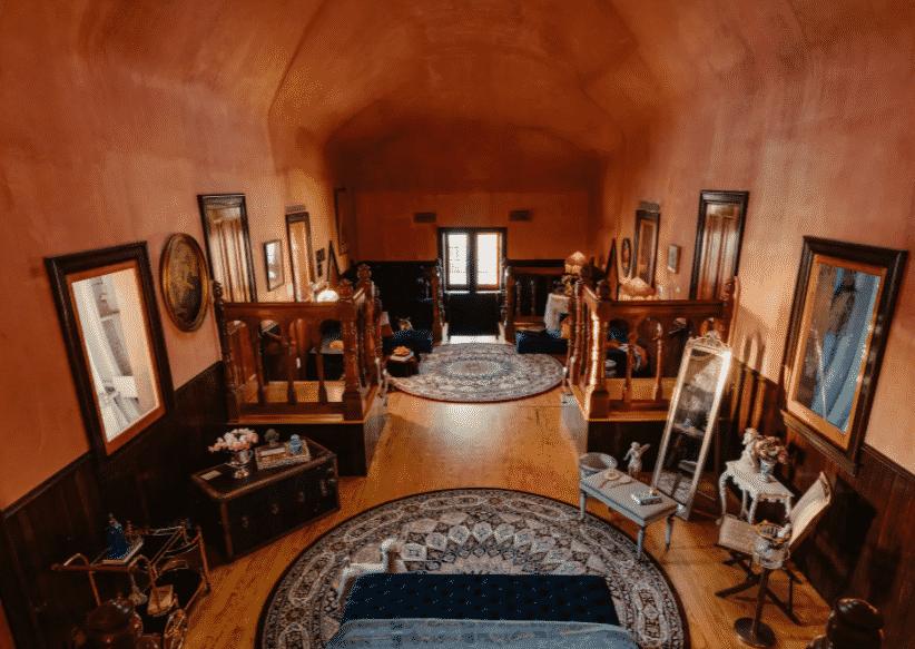 Elephant house interior