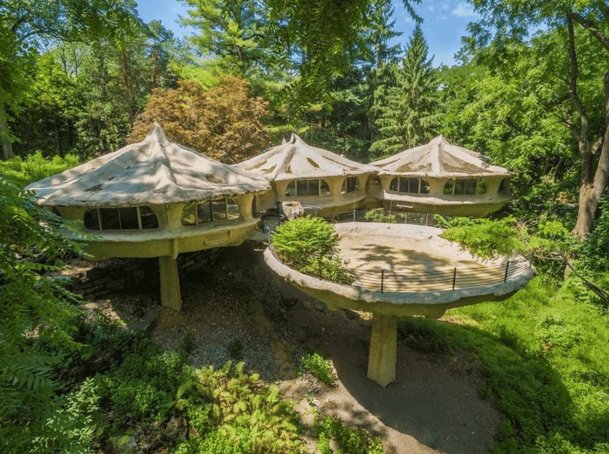 Pittsford Mushroom House