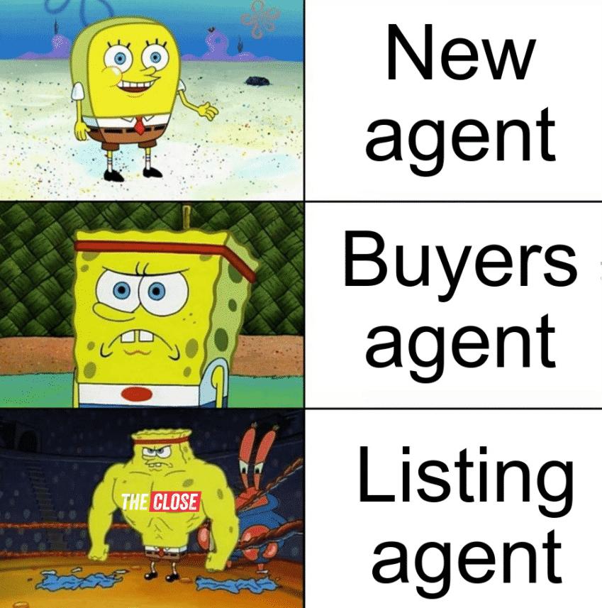 Spongebob in different agents mode