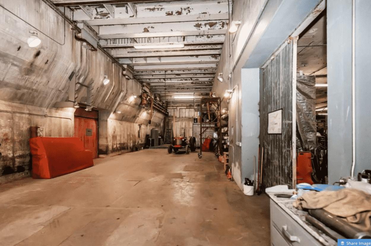 decommissioned Atlas E nuclear missile base
