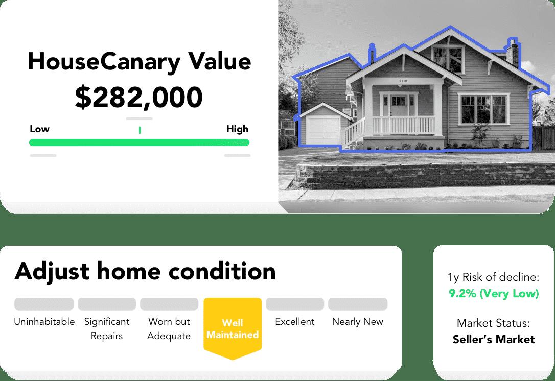 HouseCanary property listing