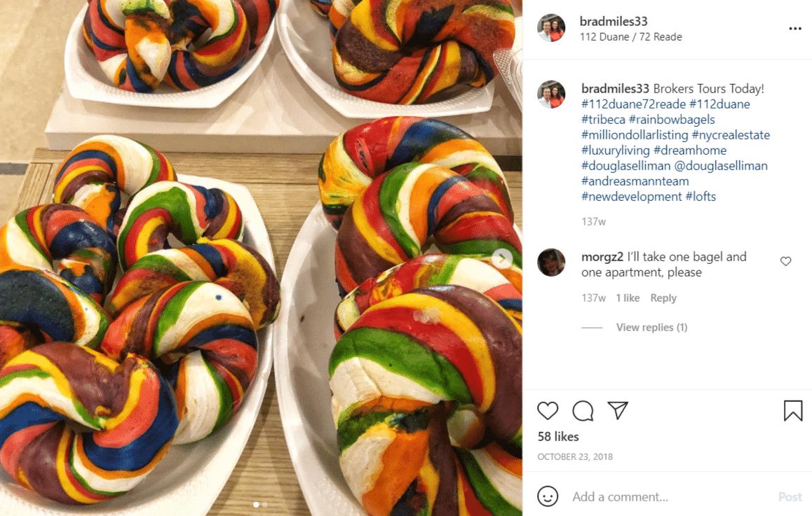 Insta-Worthy Rainbow Bagels