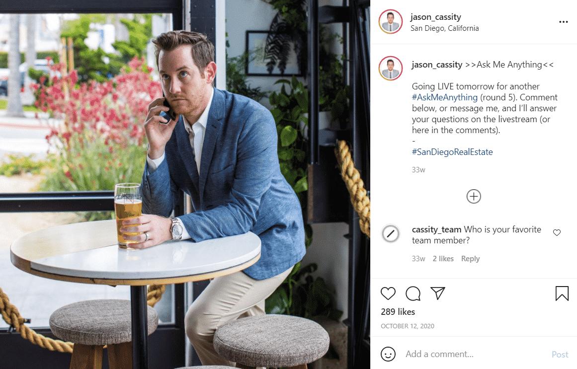 Jason Cassity Instagram