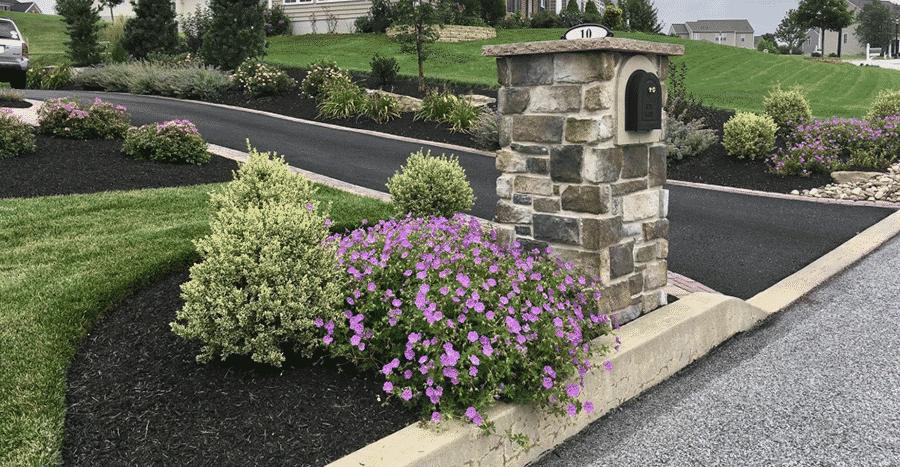 Landscape Around the Mailbox