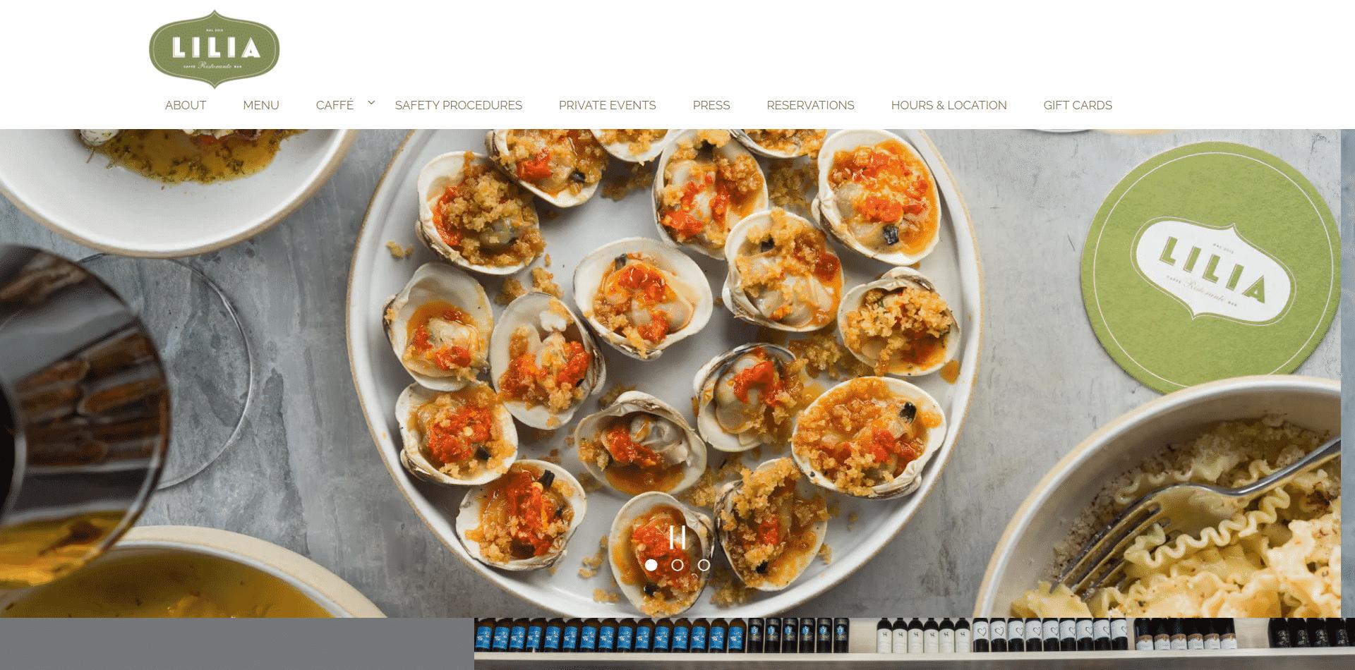 Lilia seafood cuisine