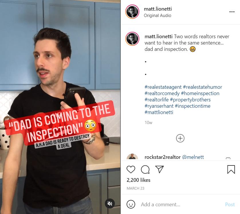 Matt Lionetti Instagram