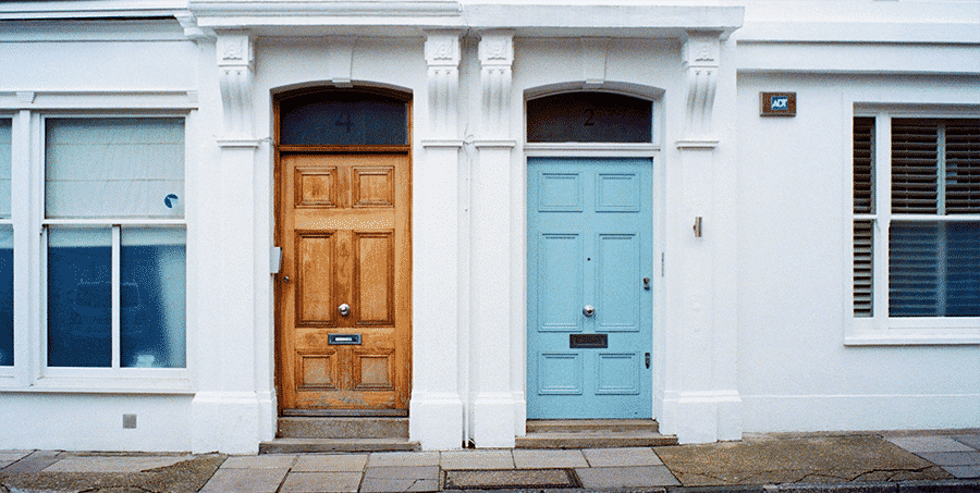 Paint or Stain the Front Door
