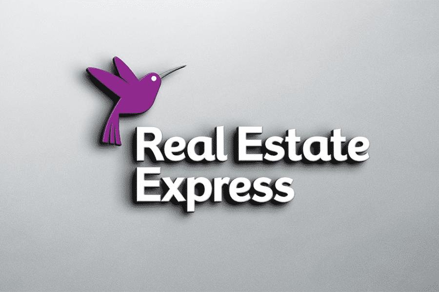 Real Estate Express Logo Banner
