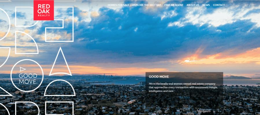 Red Oak Realty website